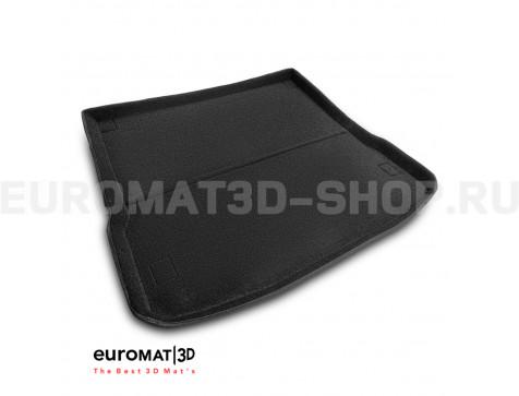 Текстильный 3D Коврик Euromat в багажник Для Jaguar F-Pace (2016-) № EMT3D-002753