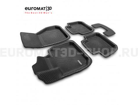 3D коврики Euromat3D EVA в салон для Bmw X1 (F48) № EM3DEVA-001220