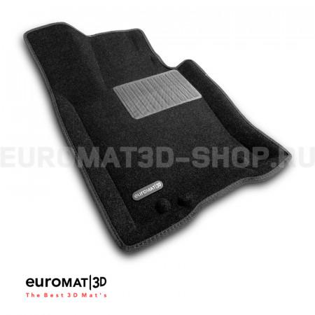 Текстильные 3D коврики Euromat3D Business в салон для Kia Mohave (2021-) № EMC3D-002906
